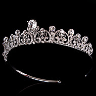 Women's Rhinestone / Crystal / Brass Headpiece-Wedding / Special Occasion Tiaras 1 Piece