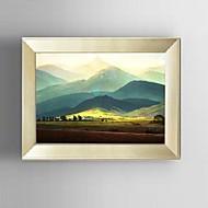 lienzo conjunto Paisaje Pastoral / Estilo europeo,Un Panel Lienzos Horizontal lámina Decoración de pared For Decoración hogareña
