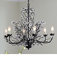 5 Chandelier ,  Traditional/Classic Painting Feature for Crystal Metal Living Room / Game Room