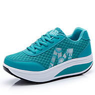 Women's Shoes Tulle Spring / Summer / Fall Comfort Sneakers Casual Flat Heel Others Blue / Pink / Coral