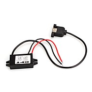 vandtæt DC / DC step-down konverter 12v // 24v til 5V / 3a usb power regulator bil