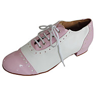 Moguće personalizirati-Ženske-Plesne cipele-Cipele za swing-Koža / Lakirana koža-Niska potpetica-Crna / Ružičasta / Crvena / Bijela