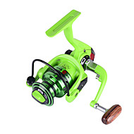 BF2000 5.2:1 10+1 Ball Bearings Freshwater Bass Fishing Carp Fishing Spinning Reels Left and Right Handle