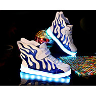 LED Light Up Shoes, Boys' Shoes Casual PU / Tulle Flats / Clogs & Mules Spring / Fall Comfort /  Flats Others / Hook & Loop / Split Joint