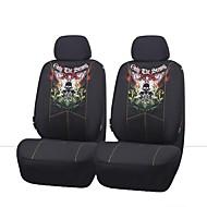 4 PC súper asiento de malla universal de la tela frontal del automóvil cubre paquete conjunto