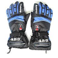 Luvas de esqui Mulheres Homens Unisexo Luvas Esportivas Manter Quente Prova-de-Água Esqui Luvas de Esqui