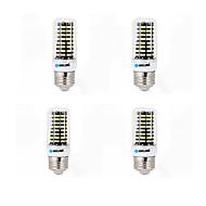 4個のbrelong 6w 550-600lm e14 / g9 / gu10 / e27 / b22 ledコーンライト80 smd 5733ウォーム/クールホワイトAC 220-240 v