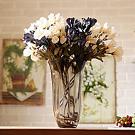 Hi-Q 1Pc Decorative  Real Touch  Lilium Brownii Wedding Home Table Decoration Artificial Flowers