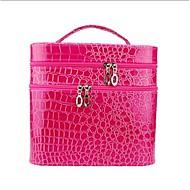 Damen Krokodilleder Stil Alltag Kosmetik Tasche