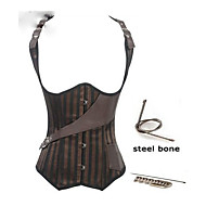 Waist Training Corsets Steampunk Gothic Steel Boned Corset Waist Trainer Steampunk Clothing Bustier Corselet