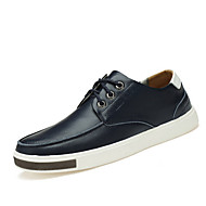 Men's Sneakers Spring / Summer / Fall / Winter Comfort Cowhide / Fur Casual Flat Heel Others Black / Blue Others