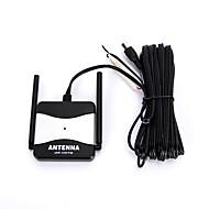 dc 12v schwarz Außen Booster FM Radio TV-Antenne für die Automobil-Auto