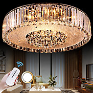 5 Flush Mount ,  Modern/Contemporary Electroplated Feature for Crystal Metal Living Room Bedroom Dining Room