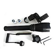 Lights LED Flashlights/Torch / Flashlight Kits Laser 532nm Lumens 1 Mode - CR123ADimmable / Waterproof / Tactical / Emergency / Night