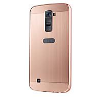 のために LGケース メッキ仕上げ ケース バックカバー ケース ソリッドカラー ハード アクリル LG LG K10 / LG G5 / LG G4 / LG G4スタイラス/ LS770 / LG V10 / Other