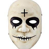 Maske Monster Fest/Feiertage Halloween Kostüme Weiß einfarbig Maske Halloween / Karneval Unisex Harz