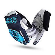 BATFOX® Luvas Esportivas Todos Luvas de Ciclismo Primavera / Outono Luvas para Ciclismo Anti-Derrapagem / Respirável / Vestível Dedo Total