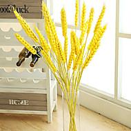 1pc 1 Větev Styrofoam / Umělá hmota Rostliny Květina na zem Umělé květiny 29.9inch/76CM