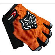 case utendørs riding idrett hansker motorsykkel riding semi finger hansker anti slip menn og kvinner bruker