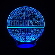 star wars Touch Dimm 3d LED-Nachtlicht 7colorful Dekoration Atmosphäre Lampe Neuheit Beleuchtung Weihnachtslicht