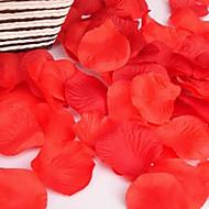 100pc 1 Větev Polyester Růže / Rostliny Květina na stůl Umělé květiny 1.17inch/4.5CM