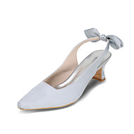 Women's Heels Spring / Summer / Fall Heels / Square Toe Silk Wedding / Party & Evening