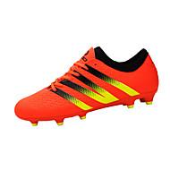 Kényelmes-Lapos-Női cipő-Tornacipők-Sportos-PU-Fekete Sárga Narancssárga