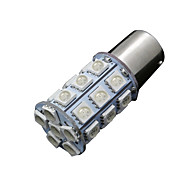 10x rood 1157 BAY15d 5050 27-SMD LED-lampen staart rem beurt licht 7528 2057 1157a
