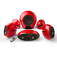 EDIFIER E255 5.1 Home Speaker System Be Part of The Movie with 385-Watts of Surround Sound.