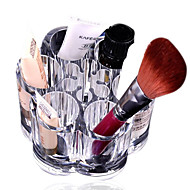 kristal make-up cosmetische container opbergdoosje container doos / badkamer organisator / acryl make-up pen box