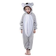 Kigurumi Pijamale noul Cosplay® Koala Leotard/Onesie Festival/Sărbătoare Sleepwear Pentru Animale Halloween Gri Peteci Lână polară