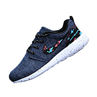 Kényelmes-Lapos-Női cipő-Lapos-Alkalmi-Tüll-Kék / Szürke / Bézs