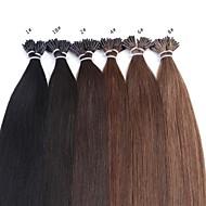heet verkoop 25g neitsi 20inch prebonded i tip gule stok remy hair extensions