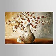 Ručně malované Abstraktní / Krajina / Zátiší / Fantazie / Květinový/Botanický motiv olejomalby,Moderní / Pastýřský / evropský stylJeden