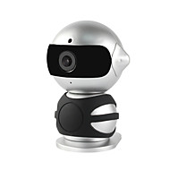 yanse® 1.3MP robot mini indoor met dag en nacht hd wifi ip camera (dual stream / remote access / plug and play)