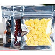 7.7 * 10cm lille pose af fødevarer emballage poser med plastpose forsegling aluminiumsfolie taske retssag