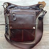 Herren Kuhfell Alltag Hüfttasche
