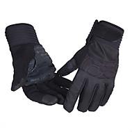 BATFOX® כפפות ספורט/ פעילות כל כפפות רכיבה אביב / סתיו כפפות אופנייםשמור על חום הגוף / נגד החלקה / נושם / עמיד בפני רוחות / לביש / חסין
