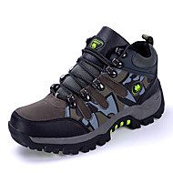 Men's Sneakers Spring / Fall Comfort Canvas Casual Flat Heel Brown / Green / Gray Walking