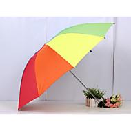Különböző színekben Összecsukható esernyő Napernyő / Sunny és Rainy / Esős Fém / textil / SzilikonBabakocsi / gyerekek / Utazás / Nő /