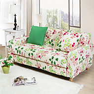 Colorful flowers multifunctional all-inclusive full sofa cover slip cover stretch fabric elastic solid color sofa case
