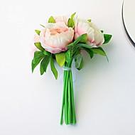 """1 Větev Umělá hmota Pivoňky Květina na stůl Umělé květiny 37(14.5"""")"""