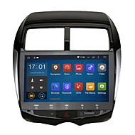 Android 5.1.1 2 DIN 10.2'quad kärna 1024 * 600 bil gps stereoradio för Mitsubishi Lancer ex wifi bluetooth spegel länk