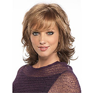 Short Curly Dark Brown Hair Wigs Women Cosplay Wigs Natural African and American Fiber Wigs