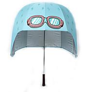 Kék Összecsukható esernyő Sunny és Rainy textil gyerekek
