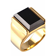 Men's Gem / Titanium Steel Vintage Punk Ring Party / Daily / Casual 1pc Statement Rings Christmas Gifts