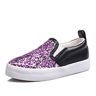 Girl's Loafers & Slip-Ons Spring Summer Fall Comfort Glitter Outdoor Casual Athletic Flat Heel Others Gore Black Fuchsia Other