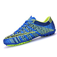 Men's Athletic Shoes Spring / Fall Comfort PU Athletic / Casual Flat Heel Black / Blue / Green / Orange Soccer