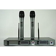 Sem Fios-Microfone Portátil-Microfone de KaraokeWith6.3 mm