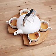 4 Cup 1 Coffee Equipment Suits The Teapot